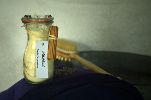 Lavendelmilch