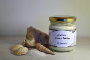 Limetten – Creme – Peeling